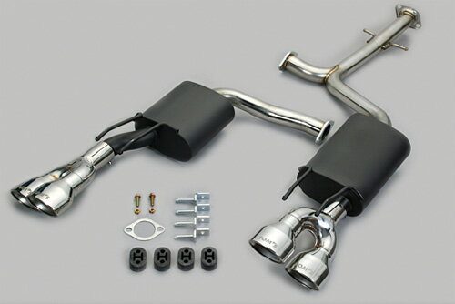 TOM'S Exhaust System TOM'S BARREL トヨタ クラウンアスリート ハイブリッド AWS210用 4テール(17400-TAS11)【マフラー】トムス エキゾーストシステム トムスバレル【通常ポイント10倍!】