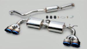 TOM'S Exhaust System TOM'S BARREL トヨタ C-HR ハイブリッド TRDリヤバンパー装着車 ZYX10用 チタンテール仕様(17400-TZX13)【マフラー】 トムス エキゾーストシステム トムスバレル【通常ポイント10倍!】