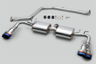 TOM'S Exhaust System TOM'S BARREL オフセット4 トヨタ プリウス ZVW50/ZVW51/ZVW55用 チタンテール仕様(17400-TZW56)【マフラー】トムス エキゾーストシステム トムスバレル【通常ポイント10倍!】