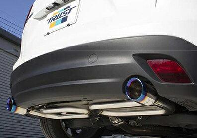 TRUST GReddy COMFORT SPORT GTスラッシュマフラー マツダ CX-5 KE2AW/KE2FD用 (10140714)【マフラー】トラスト グレッディ コンフォートスポーツ【通常ポイント10倍!】