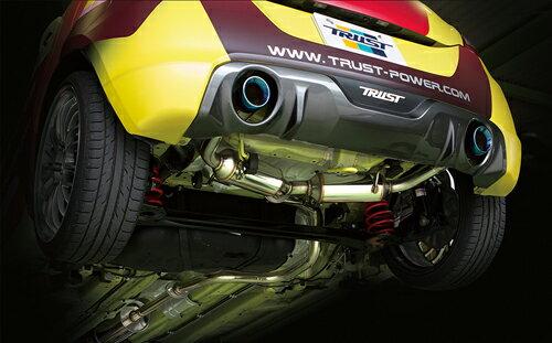 TRUST GReddy COMFORT SPORT GTスラッシュマフラー スズキ スイフトスポーツ ZC32S用 バージョン2(10190714)【マフラー】トラスト グレッディ コンフォートスポーツ【通常ポイント10倍!】