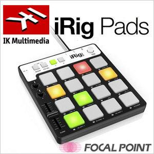 【IK Multimedia / アイケー マルチメディア】IK Multimedia iRig Pads(アイリグ パッズ)ポータブルMIDIパッドコントローラー