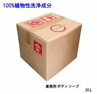 自然にやさしい業務用ボディソープ20L(本体のみ)【ウインドヒル】