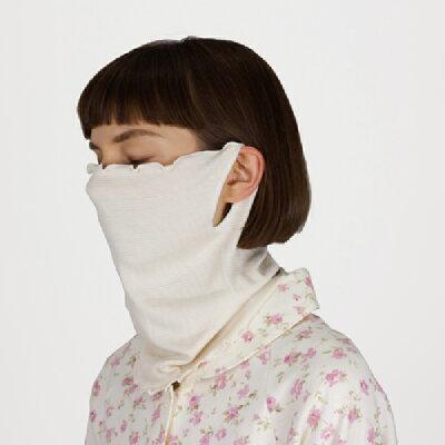 神戸生絲シルクフェイスマスク