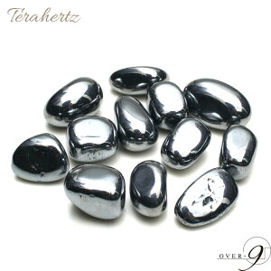 テラヘルツ タンブル 楕円型 Sサイズ 100g【メール便不可】 テラヘルツ鉱石 卵 原石 さざれ石 サザレ 効果 ケイ素
