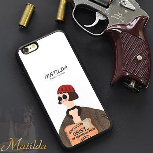 [ メール便で 送料無料 ]iPhone SE / iPhone 5s / 5【 マチルダ 】TPU スマホカバー スマホケース 4インチ