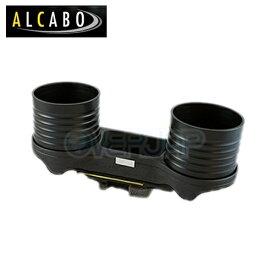 AL-076C-B ALCABO ドリンク&ポケットホルダー BMW 5シリーズ セダン E60 / ツーリング E61 / M5 MC前期用 /MT車は装着不可