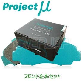 F914 RACING777 ブレーキパッド Projectμ フロント左右セット スバル インプレッサXV GP7 2012/10〜 2000