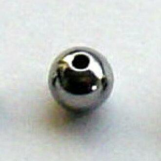 宝飾用研磨済み 高純度・単結晶ゲルマニウムビーズ (直径5mm品×1個)