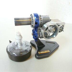 スターリングエンジン【SE-905HP】[再生器付き][発電機付き][カラー:ブラック][タイプ:組立て完成品・動作チェック済み]