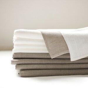 フラットシーツ 厚手 シングルサイズ ホワイト 150x250cm リネン麻100%