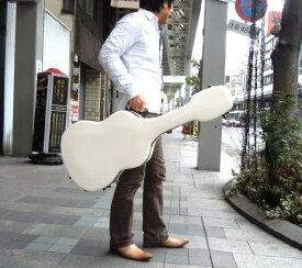 ギターケース クラシックギター用グラスファイバーケース JW.Eastman ホワイト