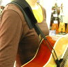 For classical Flamenco requinto guitar luxury guitar strap Luthier and Russell made in USA