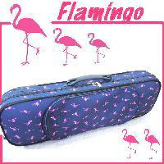 Violin case pink Flamingo backpack available 4 / 4 size