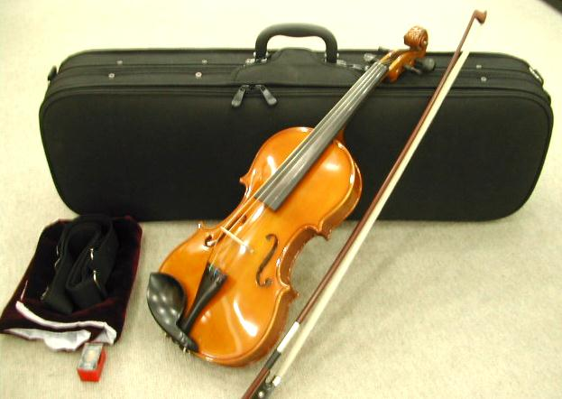 バイオリンKilHen 1416DX 1/10 - 4/4サイズ バイオリンケース・弓・松脂セット