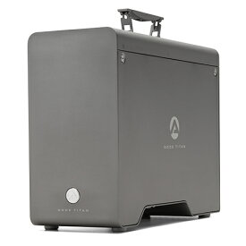 【国内正規品】 AKiTiO Node Titan / 650W電源 / Thunderbolt 3 接続/eGPU 拡張Box/フルレングス フルハイト ダブル幅 PCIeカード