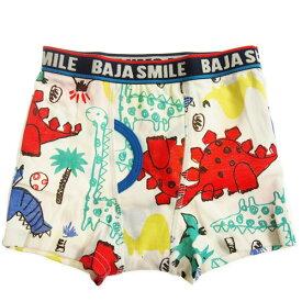 BAJA SMILE バハスマイル 95-145cm 落書き恐竜柄ボクサーパンツ メール便OK 2020春夏 子供服 ベビー服 下着