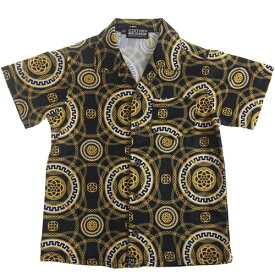 【50%OFF セール(SALE)】CONVEX コンベックス スカーフ柄半袖シャツ (メール便OK)S(155〜165cm) (2019春夏)子ども服 子供服 メンズ レディース