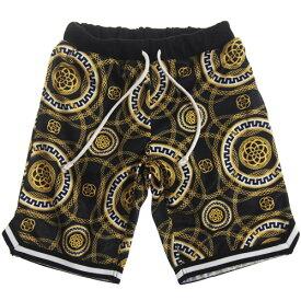 【50%OFF セール(SALE)】CONVEX コンベックス スカーフ柄バスケパンツ/ハーフパンツ (メール便OK)S(155〜165cm) (2019春夏)子ども服 子供服 メンズ