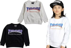 【30%OFFセール】THRASHER/スラッシャーTHRASHER SWEAT SHIRTS 【 メール便OK】FLAKE スウェット トレーナー 子供服 フレイク SALE SALE