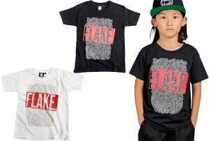 【50%OFF セール(SALE)】FLAKE フレイク FAZE ONE FLAKE ボックスロゴショートスリーブTシャツ/半袖Tシャツ(メール便OK) 100cm/110cm/120cm/130cm/140cm/150cm/160cm (春夏)子供服 子ども服 スケート スケボー