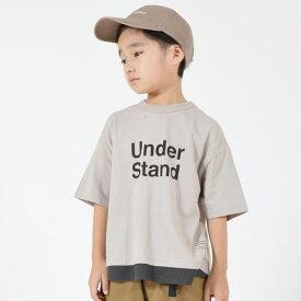 GENERATOR ジェネレーター90-160cm Under Stand Tシャツ グレー メール便OK S(90-100cm)/M(110-120cm)/L(130-140cm)/XL(150-160cm) 2020春夏新作 900407 子供服