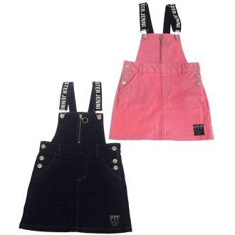 SISTER JENNI シスタージェニィストレッチデニムジャンパースカート 100cm/110cm/120cm/130cm/140cm/150cm/160cm sister Jennie children's clothes children's clothes