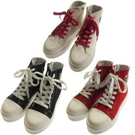 SISTER JENNI シスタージェニィ(21-24cm)厚底ハイカットキャンバススニーカー(メール便不可)(2020春新作)シスタージェニー シューズ 靴 女の子用 子供服 子ども服 JS21cm/22cm/23cm/24cm