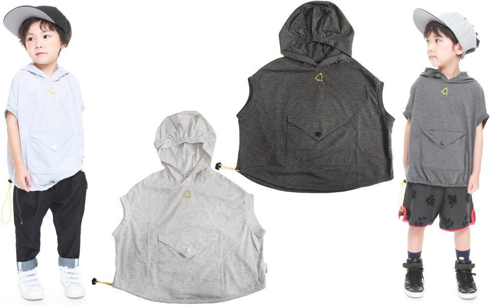 MOL モル シロクロヤギさんT/パーカー半袖Tシャツ (ゆうパケット(メール便)OK)90cm/100cm/110cm/120cm (2019春夏新作)子供服 子ども服