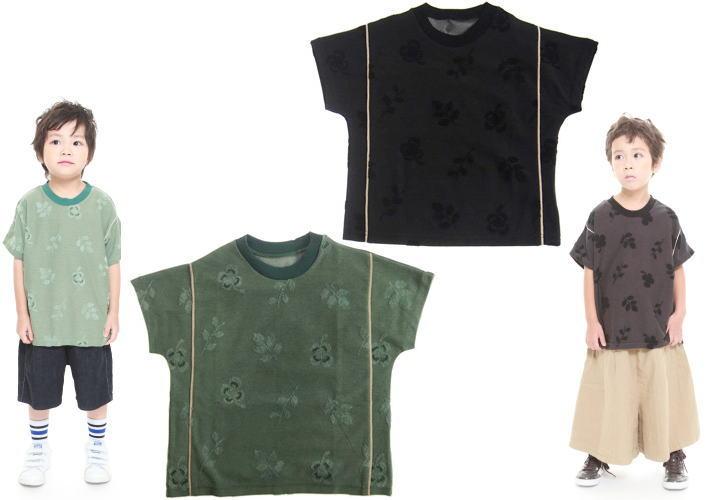 MOL モル michikusaラインT/半袖Tシャツ (ゆうパケット(メール便)OK)90cm/100cm/110cm/120cm (2019春夏新作)子供服 子ども服