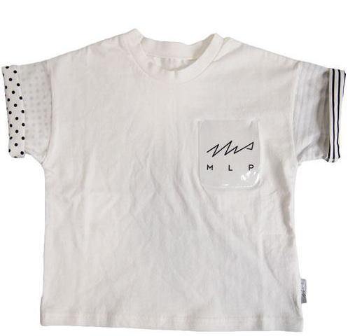 【再・再・再入荷】MOL モル MLP clear pocket/クリアポケット半袖Tシャツ 【ゆうパケット(メール便)OK】S(90cm-105cm)/M(105cm-120cm) 【定番商品】MOL 子供服 モル 子ども服 レディース