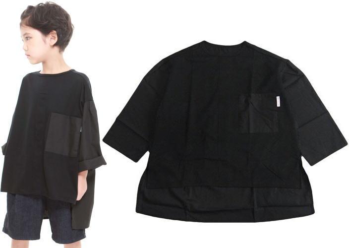 【再入荷】MOL モル MLP Boys sharts T ブラック/シャツTシャツ (ゆうパケット(メール便)OK)L(120cm-135cm)/LL(135cm-150cm) (定番商品)MOL 子供服 モル 子ども服