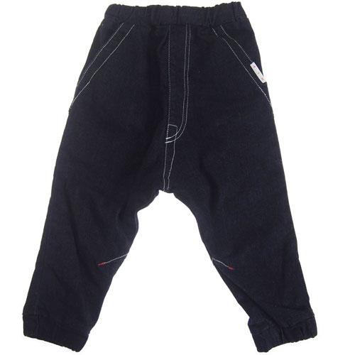 【再・再・再・再入荷】MOL モル MLP plaster pants/絆創膏アイロンワッペン付デニムパンツ 【送料無料(沖縄県と離島は除く)】FREE(Ladies')/FREE-2(Ladies') 【定番商品】MOL 子供服 モル 子ども服 レディース
