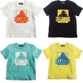 エクストララージ キッズ XLARGE KIDSOG半袖Tシャツ/オリジナルゴリラ (メール便OK)80cm/90cm/100cm/110cm/120cm/130cm/140cm (2019春新作)X-LARGE KIDS 子供服 子ども服 ベビー服
