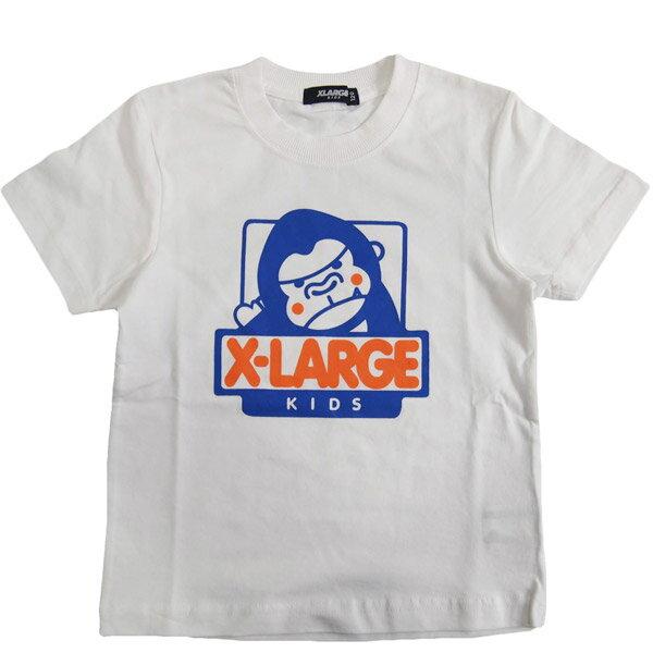 エクストララージ キッズ XLARGE KIDSファニーゴリラ半袖Tシャツ (メール便OK)80cm/90cm/100cm/110cm/120cm/130cm/140cm (2019春新作)X-LARGE KIDS 子供服 子ども服 ベビー服