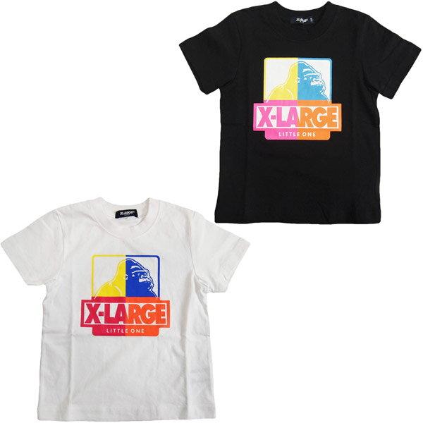 エクストララージ キッズ XLARGE KIDSマルチOG半袖Tシャツ/オリジナルゴリラ (メール便OK)80cm/90cm/100cm/110cm/120cm/130cm/140cm (2019春新作)X-LARGE KIDS 子供服 子ども服 ベビー服