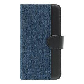 ファブリック素材×PUレザー THE 手帳型マルチケース 5.2インチまでの iPhone GALAXY Xperia Android One スマートフォンに対応 メール便送料無料