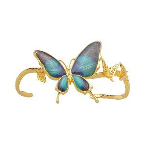 (Psyche/現品) 舞い飛ぶ蝶のデザイン バタフライバングル  [ドクソコパチェルビナ]