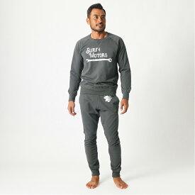 【5%OFFクーポン】 ■ SURF&MOTORS パンツ Sweat Pants スウェット SM03SWP001 メンズ BLACK サーフアンドモータース 【新品・他商品との同梱不可】