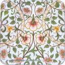 CASTLE MELAMINE Coasters コースターWilliam Morris Daffodill CWCS4
