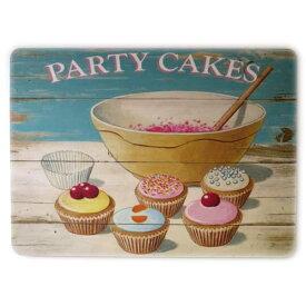 CASTLE MELAMINE Table Mat Party Cakes TMCM15