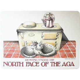 CASTLE MELAMINE Table Mat North Face of the Aga TMCM63