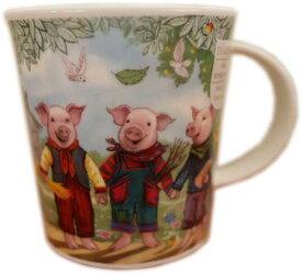 Dunoon マグカップ LOMOND 3 Little Pigs ( 三匹の子豚 ) DNFTS1 [0.32L]