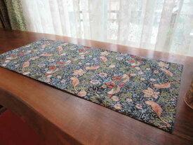 モリスデザインオックスフォードタイム Table Centre テーブルセンター Strawberry Thief Blue TABC303N【70cm×30cm】