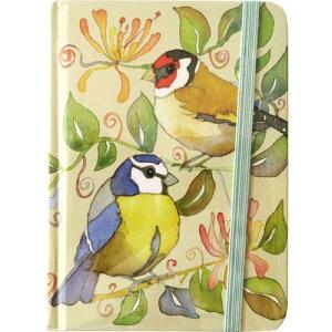Emma Ball エマボール社製Hardback Memo BookGarden Birds EBMB01