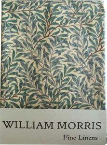 MorrisDesign at Oxford Time モリスデザインオックスフォードタイム PVC テーブルクロス(正方形)Green Willow TBCH91SQPVC (約 縦130cm × 横130cm)