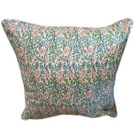 クッションカバーモリスデザインオックスフォードタイム Piped Cushion Cover Sweet Briar CCP2パイピング スイートブライア 薔薇 バラ 100%コットン