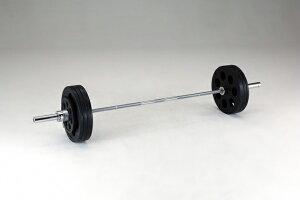 【送料無料】ダンノ (DANNO) A220穴付ラバーバーベルセット 100kg D-5882