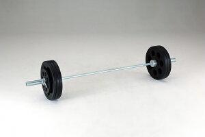 【送料無料】ダンノ (DANNO) A210穴付ラバーバーベルセット 100kg D-5892