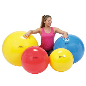 【Wアクションポンププレゼント】ギムニクボール75 黄色 バランスボール 75cm 送料無料 イタリア レードラプラスチック社製